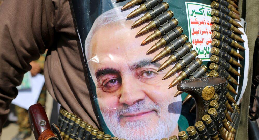 İran Devrim Muhafızları Ordusu'na bağlı Kudüs Gücü Komutanı Kasım Süleymani