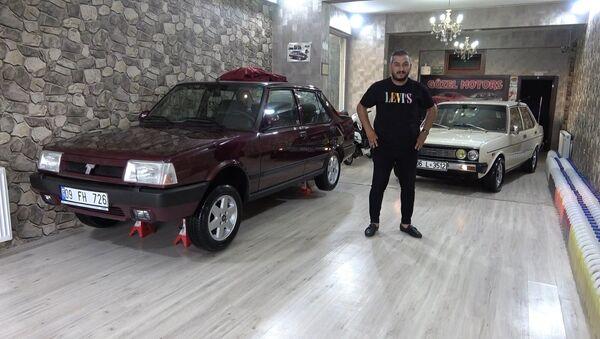Fabrikadan çıktığı gibi duruyor: 1997 model otomobili 70 bin liraya satın aldı  - Sputnik Türkiye
