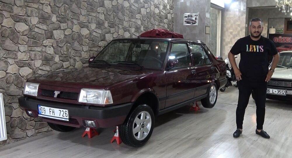 Fabrikadan çıktığı gibi duruyor: 1997 model otomobili 70 bin liraya satın aldı