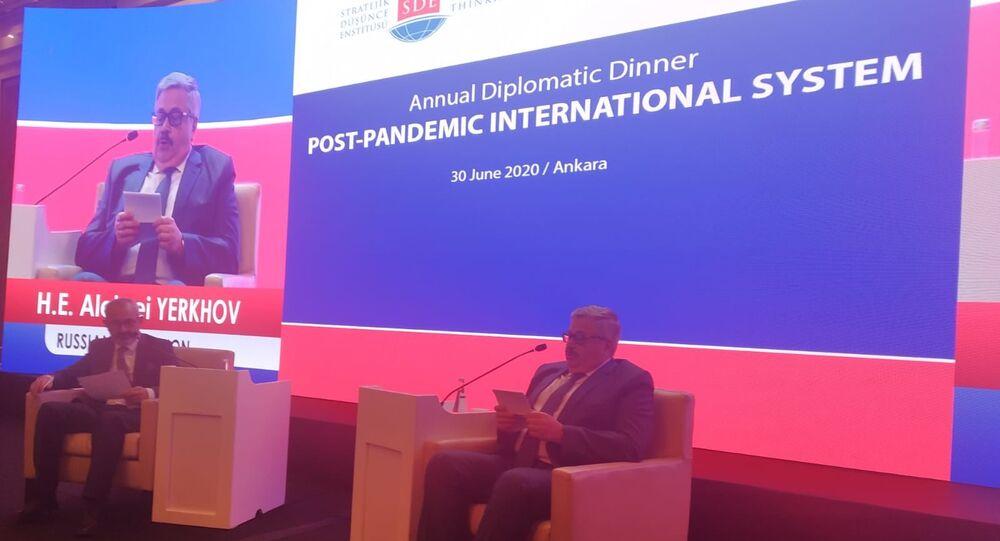 Rusya'nın Ankara Büyükelçisi Yerhov