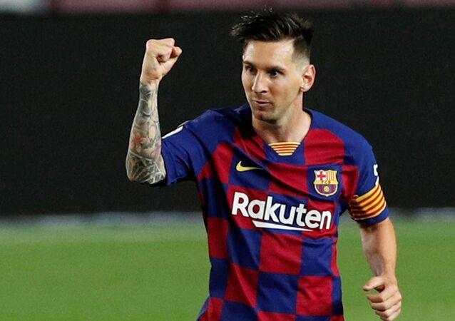 Lionel Messi, Barcelona-Atletico Madrid maçı-700. gol