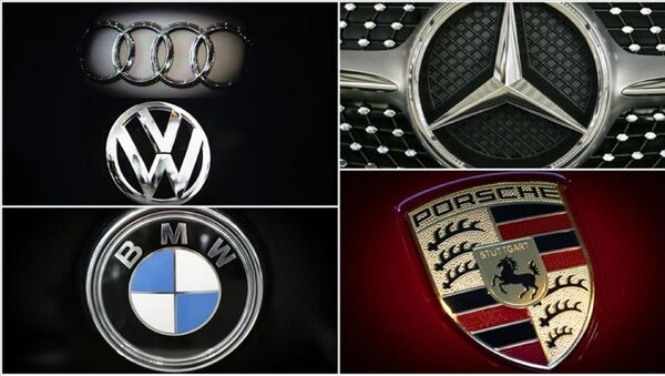 Rekabet Kurulunca, Audi, Porsche, Volkswagen, Mercedes-Benz ve BMW hakkında soruşturma açılmasına karar verildi. - Sputnik Türkiye