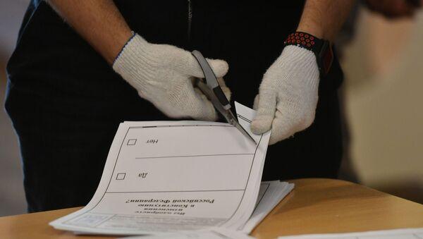 Rusya'da anayasa değişiklikleri ile ilgili oylama - Sputnik Türkiye