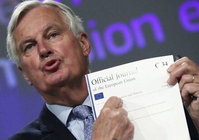 Avrupa Birliği (AB) Brexit Başmüzakerecisi Michel Barnier,