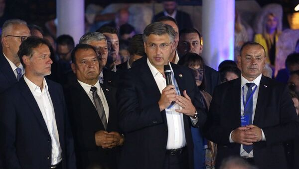 Hırvatistan'da genel seçimi Hırvat Demokrat Birliği kazandı - Sputnik Türkiye