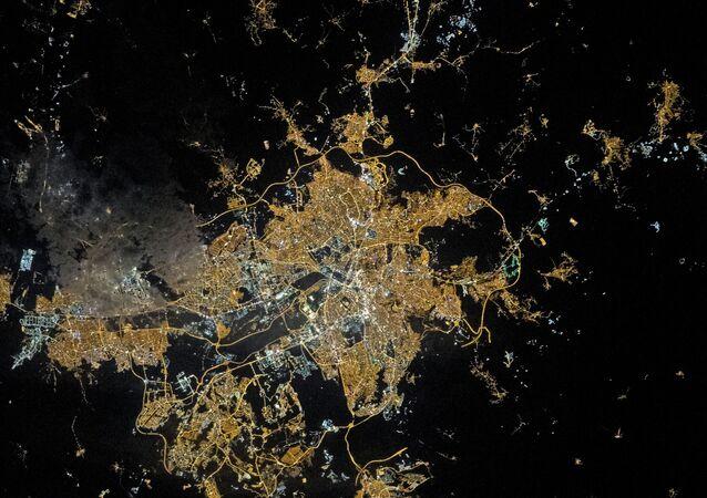 NASA, Ankara'da gece