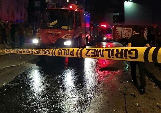 Mecidiyeköy'de televizyon tamir atölyesinde patlama: 1 yaralı