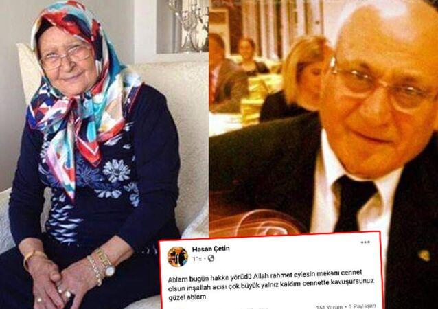Ablasını toprağa verdiği gün kalp krizi geçiren emekli emniyet müdürü hayatını kaybetti