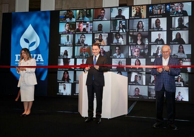 DEVA Partisi Genel Merkezi'nin açılışı dijital ortamda yapıldı