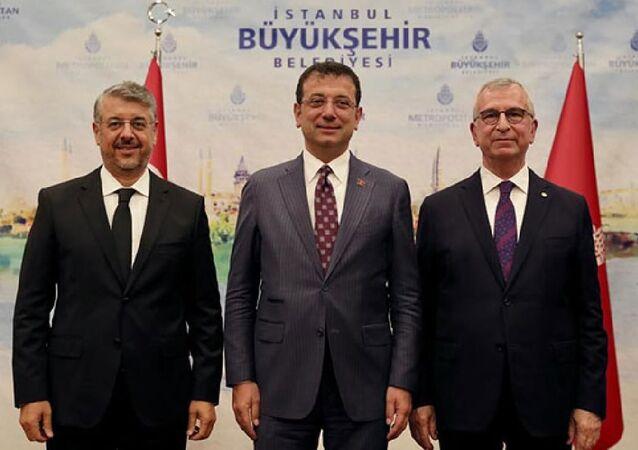 İBB Genel Sekreterliği devir teslim töreni yapıldı